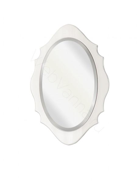 Зеркало Edelform Меро 80 см, белое, с подсветкой