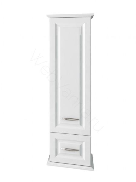 Пенал Edelform Меро 40 см, с/ящ, одинарный, белый