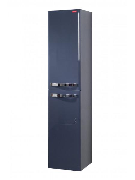 Пенал Edelform Нота 38 см, б/ящ, серый, одинарный, корзина