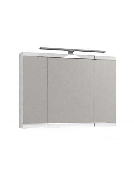 Зеркальный шкаф Edelform Фортэ 80 см, белый, с подсветкой