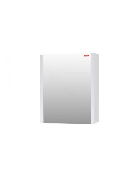 Зеркальный шкаф Edelform Фреш 60 см, белый, с подсветкой