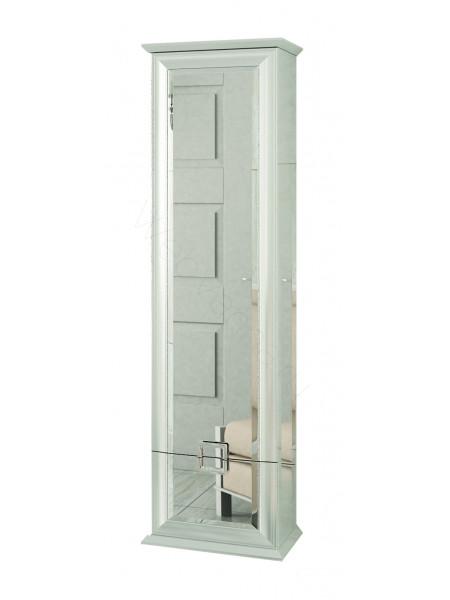 Пенал Edelform Миларита 45 см, с/ящ, одинарный, белый