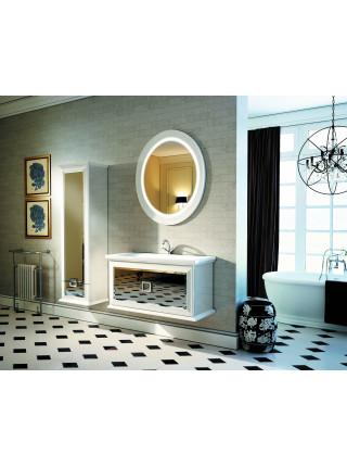 Зеркало Edelform Миларита 90 см, белое