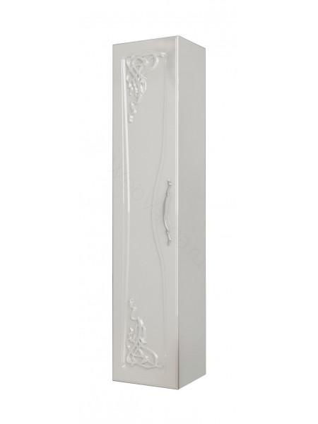 Пенал Edelform Виттория 35 см, б/ящ, одинарный, белый