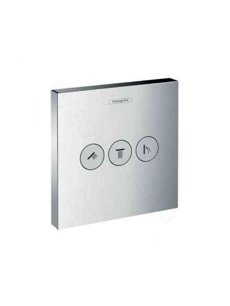 Запорно-переключающее устройство на 3 потребителя Hansgrohe 15764000