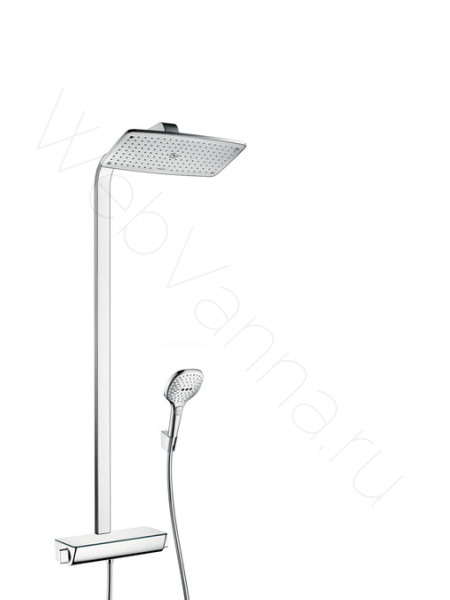 Душевая стойка Hansgrohe Raindance Select E 360 Showerpipe 27112000, хром, термостат