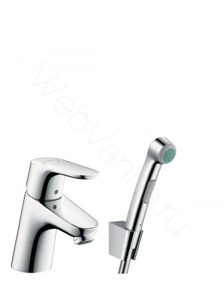 Смеситель для раковины Hansgrohe Focus 31926000 с гигиеническим душем