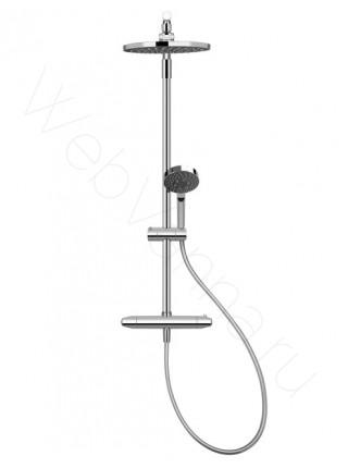 Душевая стойка Jacob Delafon Brive E24444-CP, хром, термостат