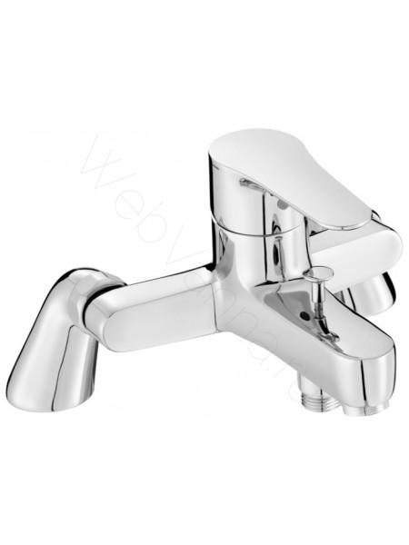 Смеситель на борт ванны Jacob Delafon July E16031-4-CP, 2 отверстия