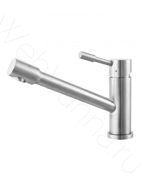 Смеситель для кухни Lemark Expert LM5072S нерж. сталь