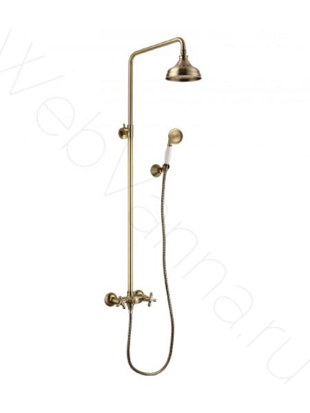 Душевая стойка Lemark Vintage LM2860B, бронза