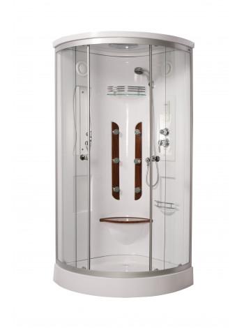 Душевая кабина Luxus 023D 90x90, прозрачное стекло