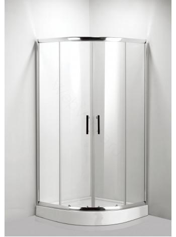 Душевой угол Luxus Della L011 90x90, прозрачное стекло