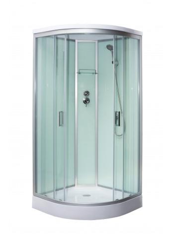 Душевая кабина Luxus Berg T09 90x90, прозрачное стекло