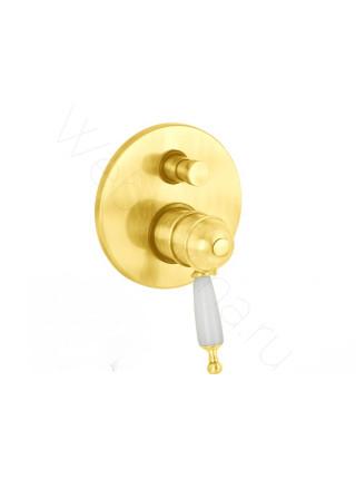 Смеситель для ванны Migliore Oxford ML.OXF-6378 BR встраиваемый термостат