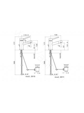 Смеситель для раковины Newform X-Trend 2210.21.018