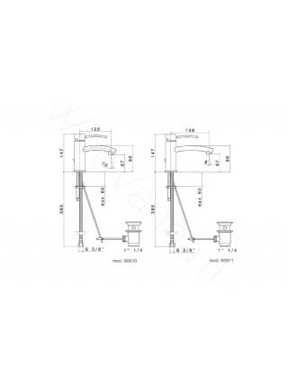 Смеситель для раковины Newform EL-X 60610.21.018
