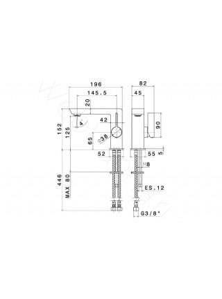 Смеситель для раковины Newform Libera 65710.21.018