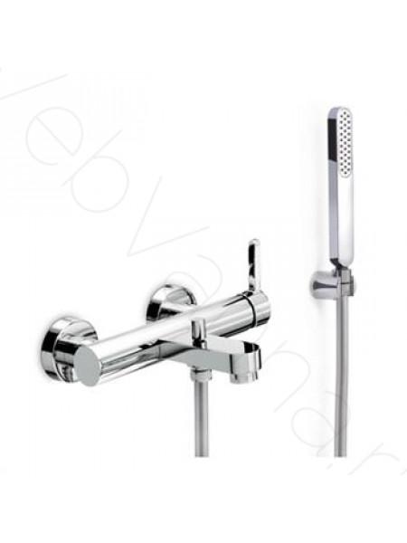 Смеситель для ванны Newform Ergo 65840C.05.007, черная вставка