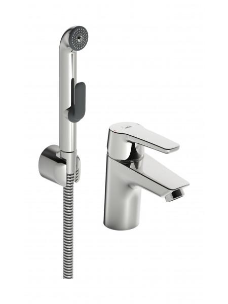 Смеситель для раковины Oras Saga 3912F с гигиеническим душем