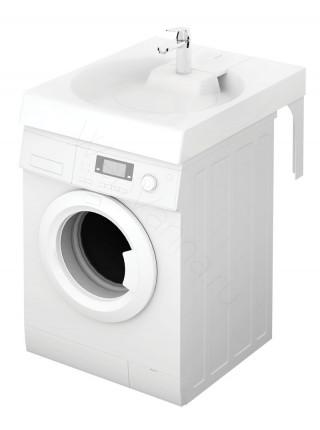 Раковина над стиральной машиной Paa Claro Grande с мыльницей