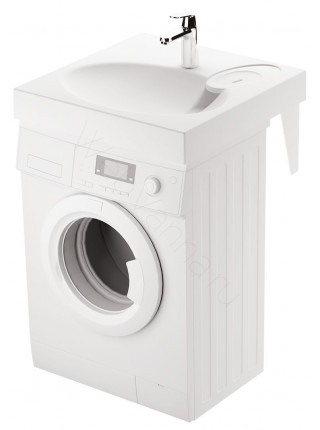 Раковина над стиральной машиной Paa Claro с мыльницей