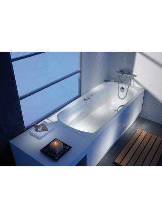 Стальная ванна Roca Swing 170x75 с ручками, 2201E0000+291109000