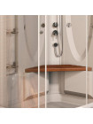 Душевая кабина Radomir Гранд 123х93 прозрачное, матовое стекло, правая, левая