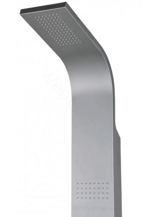 Душевая панель Ravak Totem Jet Pure, X01501, алюминий, термостат