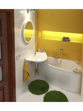 Акриловая ванна Ravak Avocado 160x75, CH01000000, правая