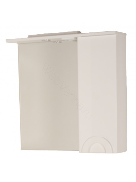 Зеркало-шкаф Topline Antibes 75 см, белый, с подсветкой