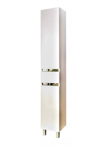 Пенал Topline Lyon 30 см, белый, с корзиной
