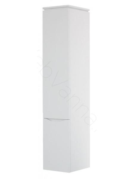 Пенал Topline Monaco 35 см, белый, с корзиной