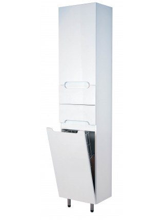 Пенал Topline Rio 40 см, белый, с корзиной