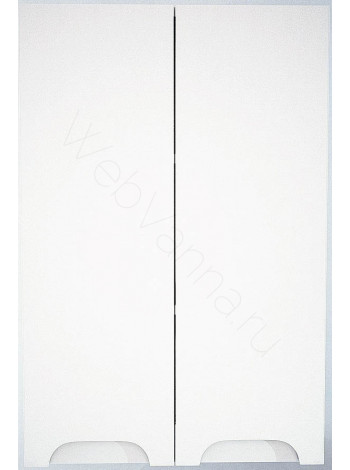 Шкаф подвесной двустворчатый Topline Rio 60 см, белый