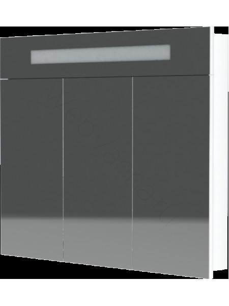 Зеркальный шкаф Topline Senator ZSS 100 W, 100 см, белый, с подсветкой