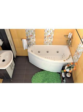 Гидромассажная ванна Тритон Бэлла 140х76 левая