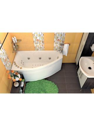Гидромассажная ванна Тритон Бэлла 140х76 правая