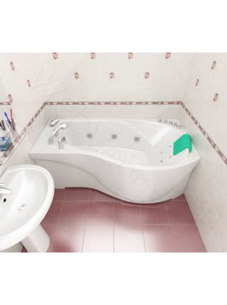 Гидромассажная ванна Тритон Мишель 170х96 левая