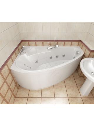 Гидромассажная ванна Тритон Пеарл-Шелл 160х104 правая