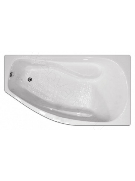 Акриловая ванна Тритон Скарлет 167х96 левая