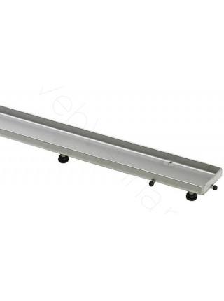 Дизайн-решетка Viega Advantix Visign ER4, 589578, 800 мм, нерж. сталь, под плитку, камень