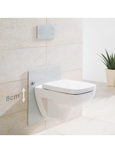 Декоративная панель для инсталляции Viega Eco Plus 708962, светло-серая
