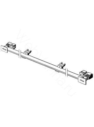 Дизайн-вставка декоративная Viega Advantix Vario 736569,300-1200 мм, матовая, нерж. сталь