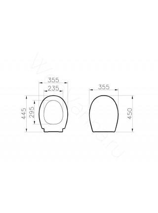 Сиденье Vitra S20 с микролифтом 800-003-009