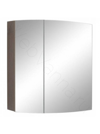 Зеркальный шкаф Valente Inizio In500.12, 50 см, шпон мокко