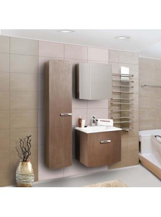 Зеркальный шкаф Bandhours Bora Br600.12, 60 см, шпон мокко