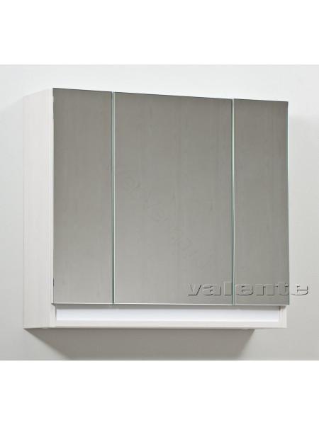 Зеркальный шкаф Valente Massima M1000.12, 100 см, белый