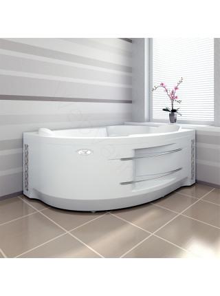 Гидромассажная ванна Wachter Ирма 2 150х97 левая Chrome