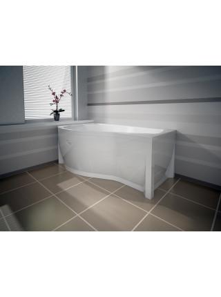Гидромассажная ванна Wachter Миранда 168х95 левая Chrome